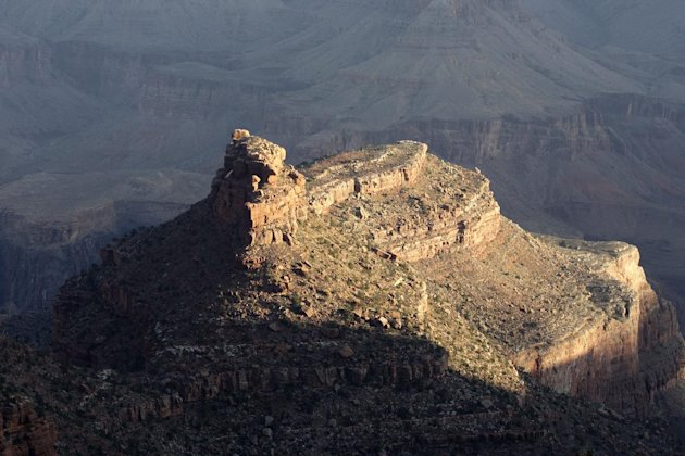 This Monday Oct. 22, 2012, photo shows a view from the South Rim of the Grand Canyon National Park in Arizona. Search engine giant Google is using the Trekker, a nearly 40-pound, backpack-sized camera
