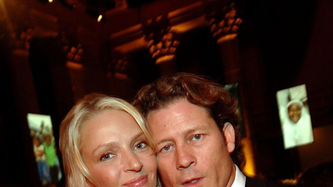 FILE: Actress Uma Thurman Pregnant With Third Child