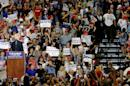 At unruly N.M. rally, Trump goes after GOP Gov. Martinez