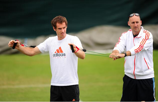 Tennis - Andy Murray and Jez Green File Photo