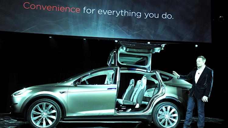 Tesla Worldwide Debut of Model X