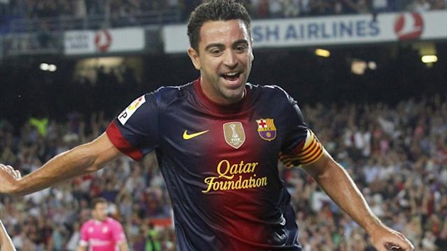 Xavi missed Barcelona&#39;s trip to Madrid, and the Champions League first leg with Milan