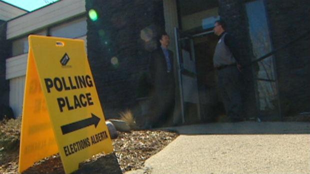 Advanced polls are now open for the Alberta Election through Saturday.