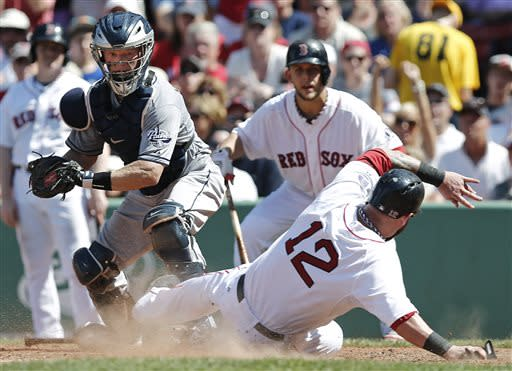 Pedroia, Ortiz carry Red Sox past Padres 8-2