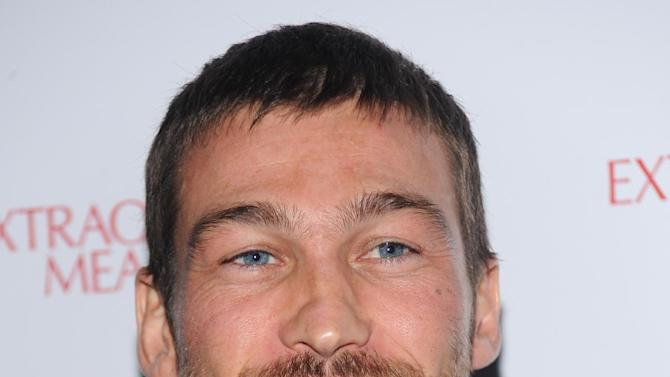 """FILE - This Thursday, Jan. 21, 2010 file photo shows actor Andy Whitfield at a screening of """"Extraordinary Measures"""" in New York. Whitfield, the 37-year-old star of the cable TV series Spartacus: Blood and Sand, died of non-Hodgkins Lymphoma in Australia on Sunday, Sept. 11, 2011. (AP Photo/Evan Agostini, File)"""