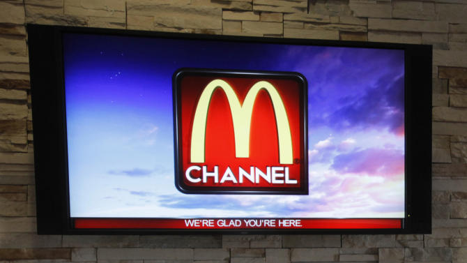 McDonald's asks, TV with that? New channel on menu