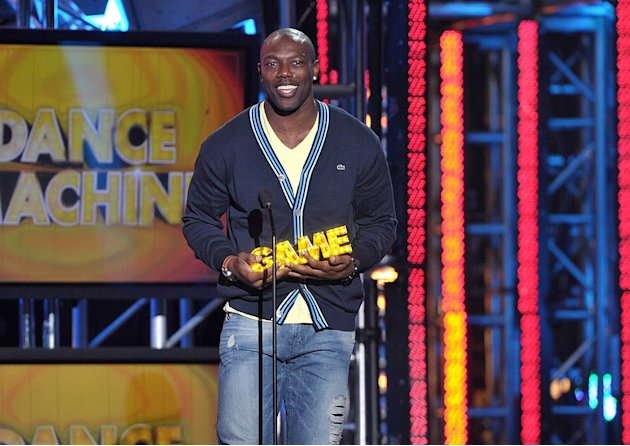 Terrell Owens Hall Of Game Awards