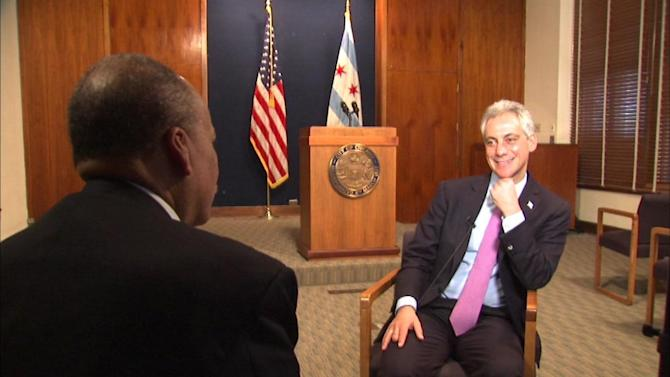 ABC7 Exclusive: Watch Charles Thomas' full interview with Mayor Emanuel
