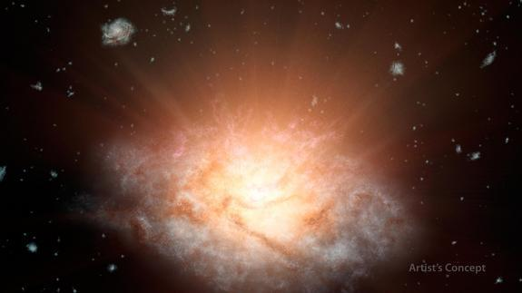 Brightest Galaxy in the Universe Found