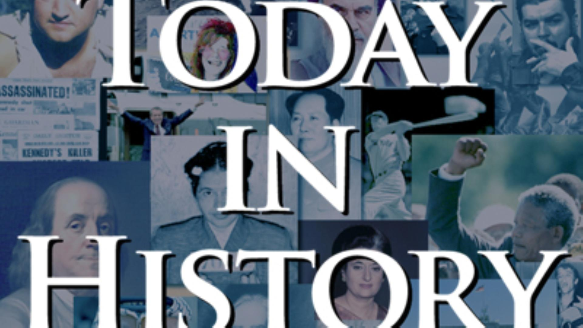 Today in History for May 23rd