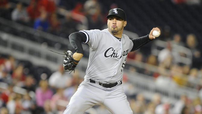 MLB: Chicago White Sox at Washington Nationals