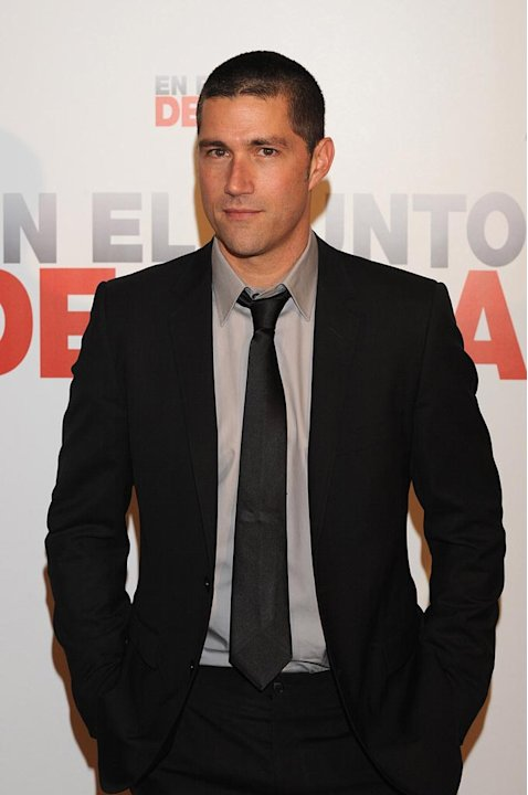 "Matthew Fox attends ""Vantage Point"" photocall."