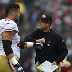 """49ers Lineman Says Jim Harbaugh 'Demanded Too Much"""""""