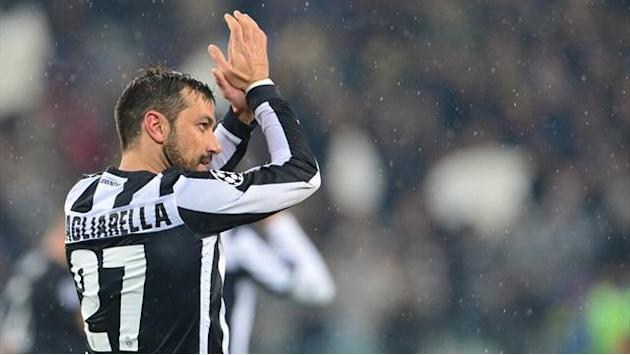 Serie A - Quagliarella back for Juve, Bonucci dropped from squad