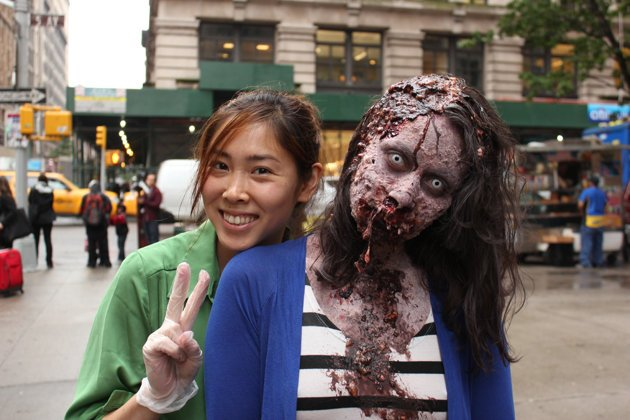 Zombies Invaded Manhattan