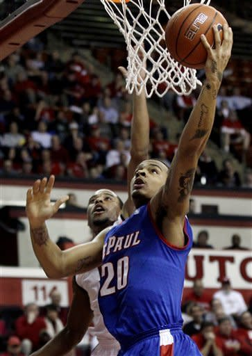 Crockett leads DePaul over Rutgers 69-64