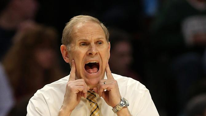 John Beilein of the Michigan Wolverines
