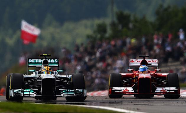 F1 Grand Prix of Germany - Qualifying