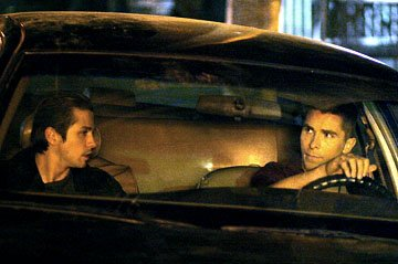 Freddy Rodriguez and Christian Bale in MGM's Harsh Times