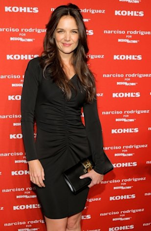Katie Holmes attends Narciso Rodriguez Kohl&#39;s Collection Launch Party in New York City on October 22, 2012 -- Getty Images