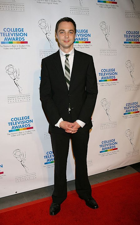 Jim Parsons arrives at The Academy of Television Arts &amp; Sciences 30th College Television Awards held at the Culver Studios on March 21, 2009 in Culver City, California. 