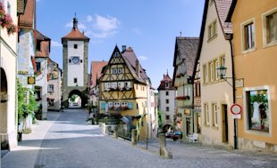 Rothenburg ob der Tauber, Germany (Courtesy of Berthold Werner/Wikimedia Commons)