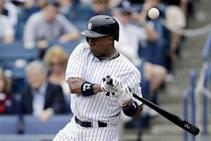 Yankees OF Granderson breaks arm, out 10 weeks
