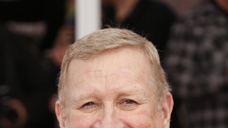 Ken Howard arrives at the 19th Annual Screen Actors Guild Awards at the Shrine Auditorium in Los Angeles on Sunday Jan. 27, 2013. (Photo by Todd Williamson/Invision for The Hollywood Reporter/AP Images)