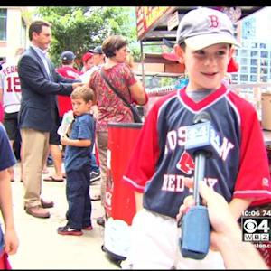 Red Sox Fans At Fenway Optimistic In Wake Of Big Trades