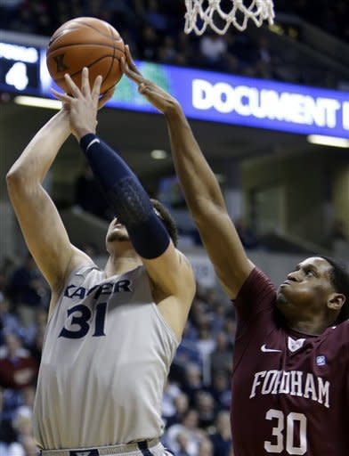 Xavier gets 11th straight win over Fordham 79-66