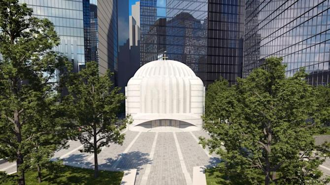 Calatrava's Design for Ground Zero Church