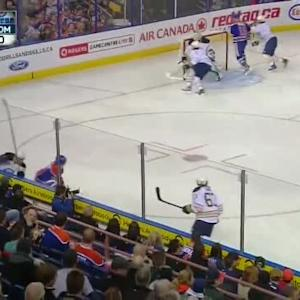 Jhonas Enroth Save on Derek Roy (05:45/1st)