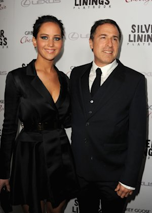 Jennifer Lawrence and director David O. Russell