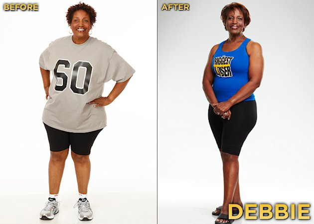 """Biggest Loser"" Season 12's Debbie Lounds started the competition at 239 lbs. and lost a total of 33 lbs."