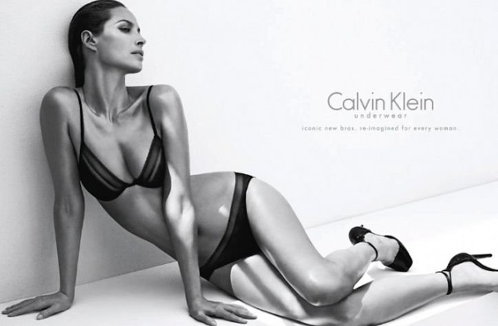 calvin klein underwear Christy Turlington