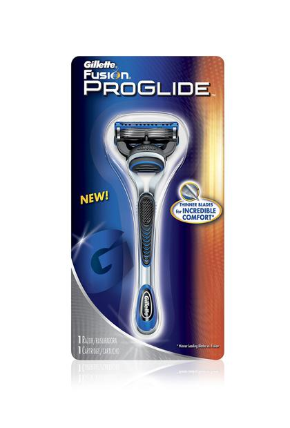 GILLETTE FUSION PROGLIDE MANUAL RAZOR, $6.97