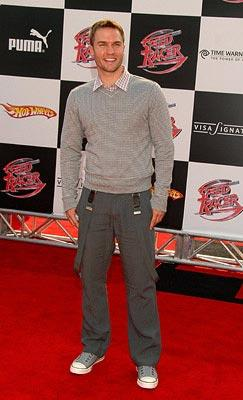 Scott Porter at the Los Angeles premiere of Warner Bros. Pictures' Speed Racer