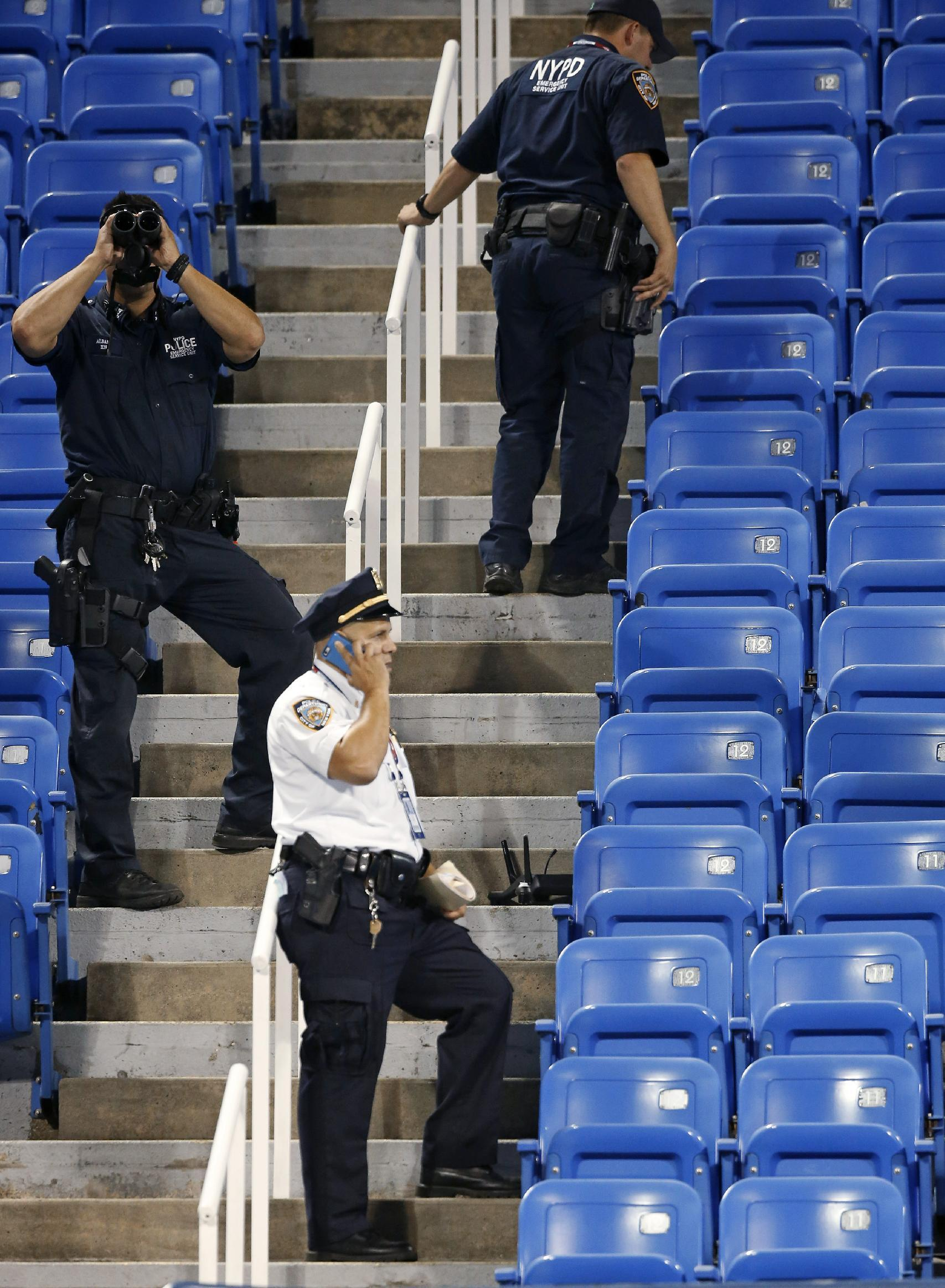 Tennis officials eye security after drone crashes at US Open