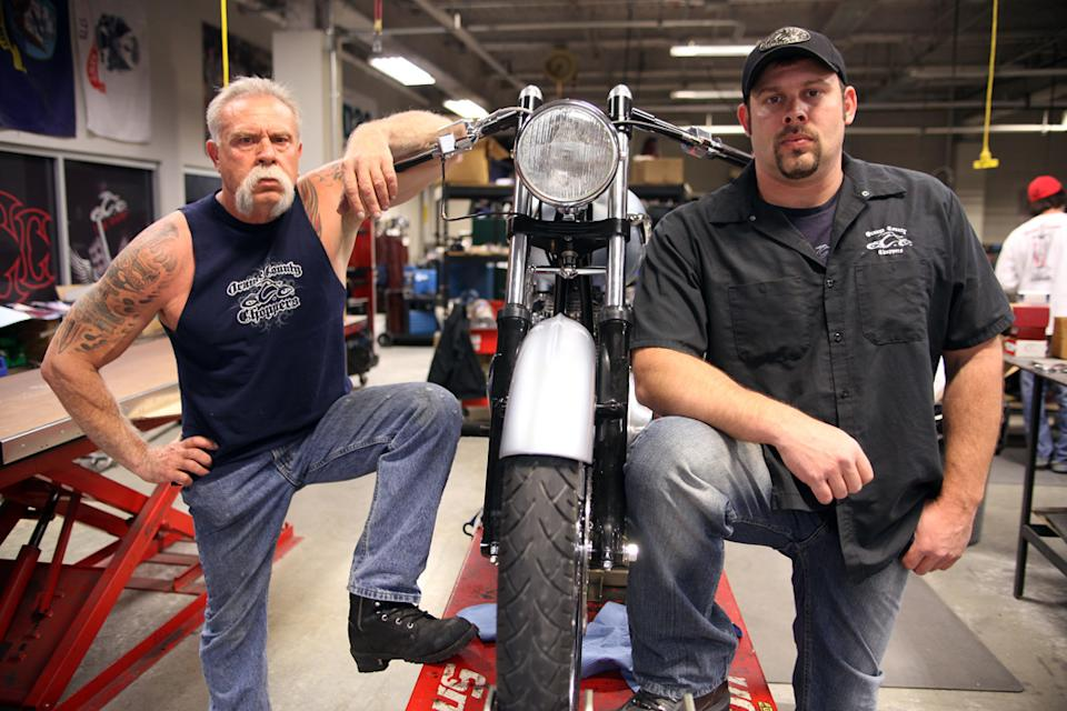 Paul Teutul Sr. and Paul Teutul Jr. of 'American Choppers'