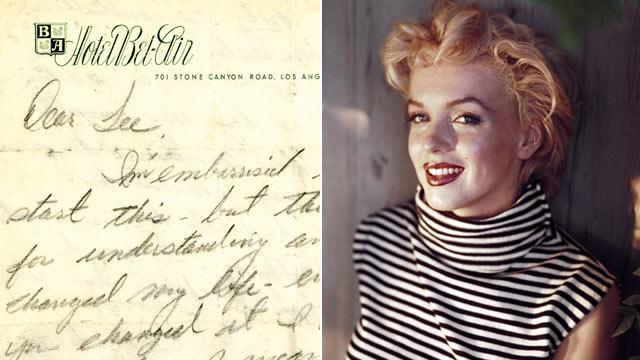 Letters From a 'Lost' Marilyn Monroe, Angry John Lennon to Be Auctioned