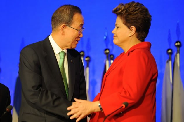 Dilma e Bank