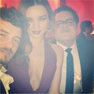 Miranda Kerr and Orlando Bloom instagram