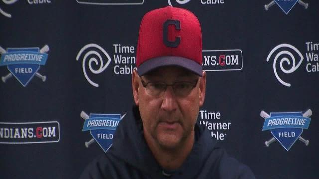 Francona Home Opener Press Conference Part 1