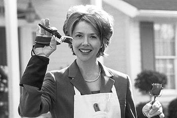 Annette Bening as Carolyn Burnham in American Beauty