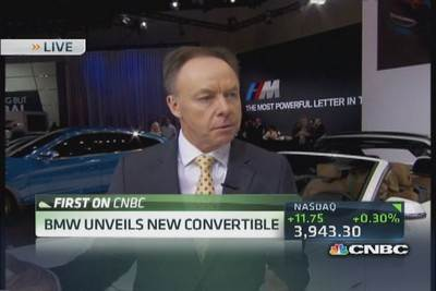 BMW board member: US biggest market for convertibles