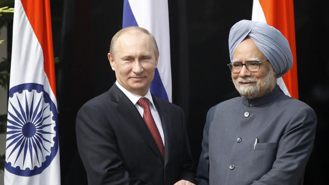 Russia, India sign weapons deals worth billions