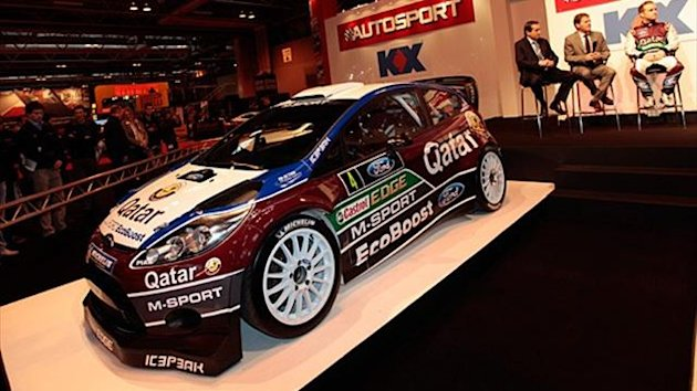 The M-Sport 2013 Ford Fiesta WRC car
