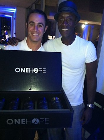 Don Cheadle joins sponsor One Hope Wine at the 4th Annual Lucky for Lupus poker charity event in Los Angeles on September 13, 2012.