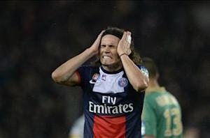 Edinson Cavani ruled out of Leverkusen clash