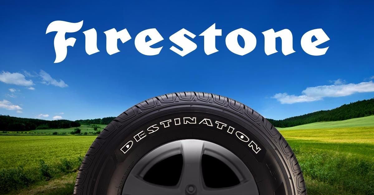 Buy 4 Firestone® Tires & Get $70